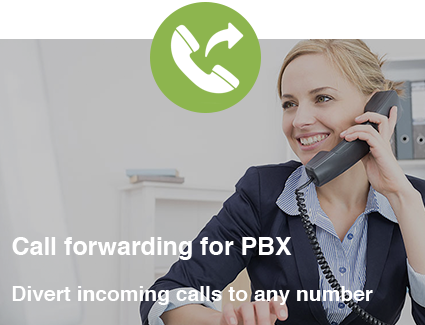 Call forwarding for PBX
