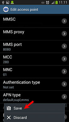 Android Settings | Cyta